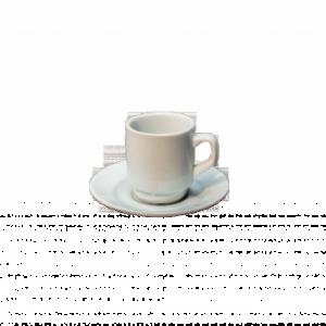 Location tasse et sous-tasse café 7cl- Réf : 1007