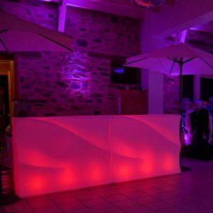 Location bar lumineux BARAONDA