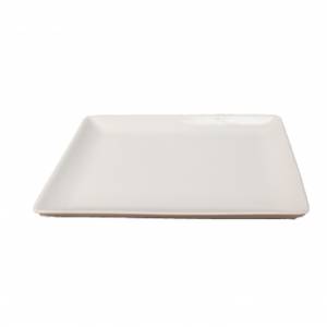 Location assiette carrée plate 21cm- Réf : 6001