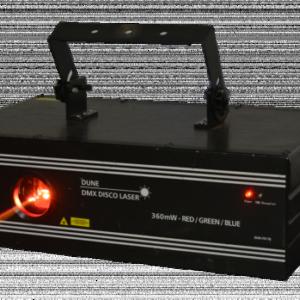 Location laser 360 MW (rouge, vert, bleu)- Réf :10035