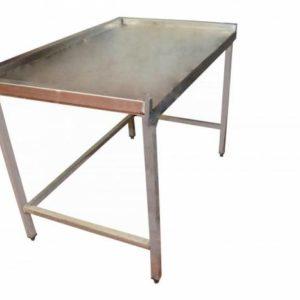 Location table inox- Réf :15