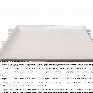 Location assiette carrée plate 27cm- Réf : 6003