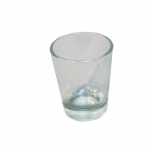Location pot évasé transparent POM POM 5cl- Réf : 8014