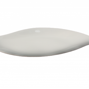 Location assiette feuille 25cm- Réf : 6008