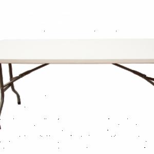Location table rectangulaire 152x76cm - Réf : 10004