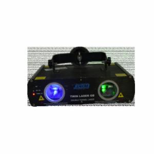 Location twin laser